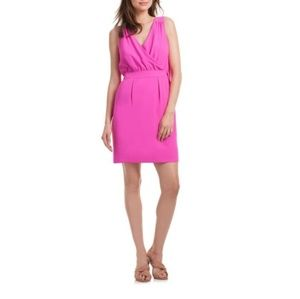 Trina Turk Brilliant Fuschia Abrigo Shift Dress